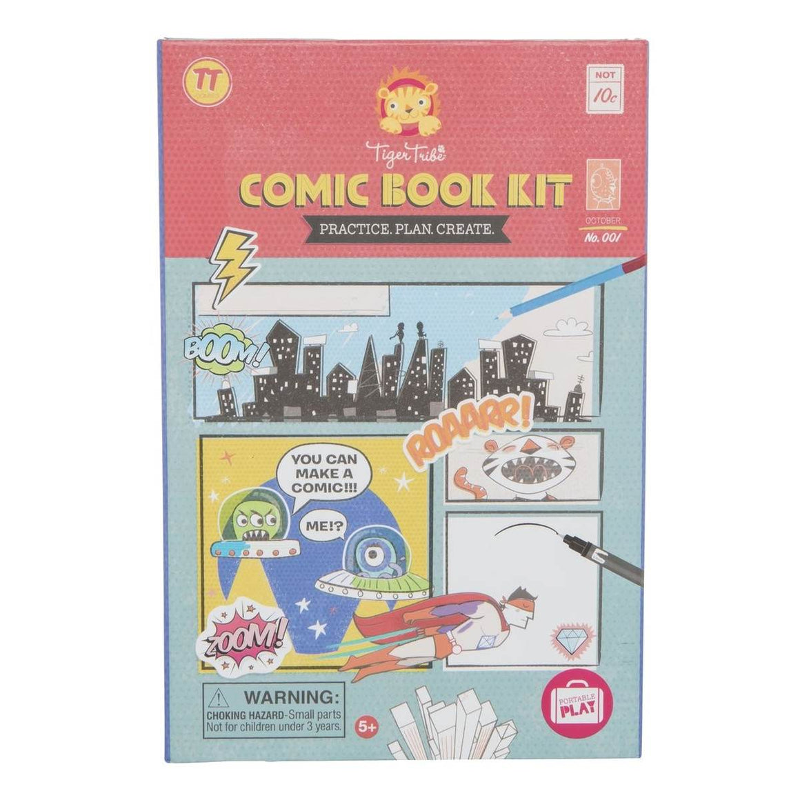 Comic Book Activity Kit - Practice, Plan, Create