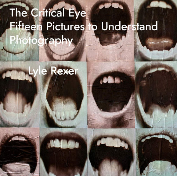 Critical Eye: Fifteen Pictures to Understand Photography. Author: Lyle Rexer