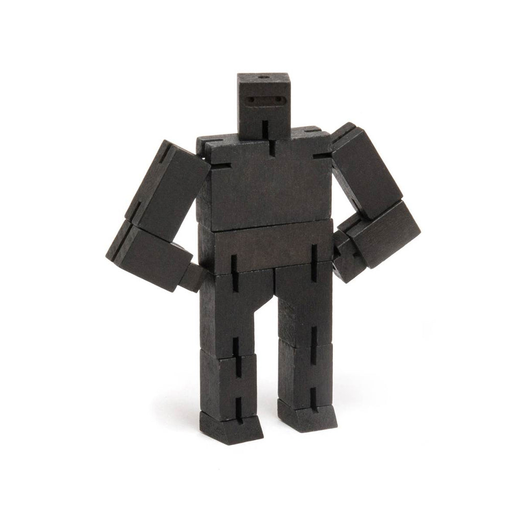 Robot Puzzle Toy | Cubebot Small Black Ninja