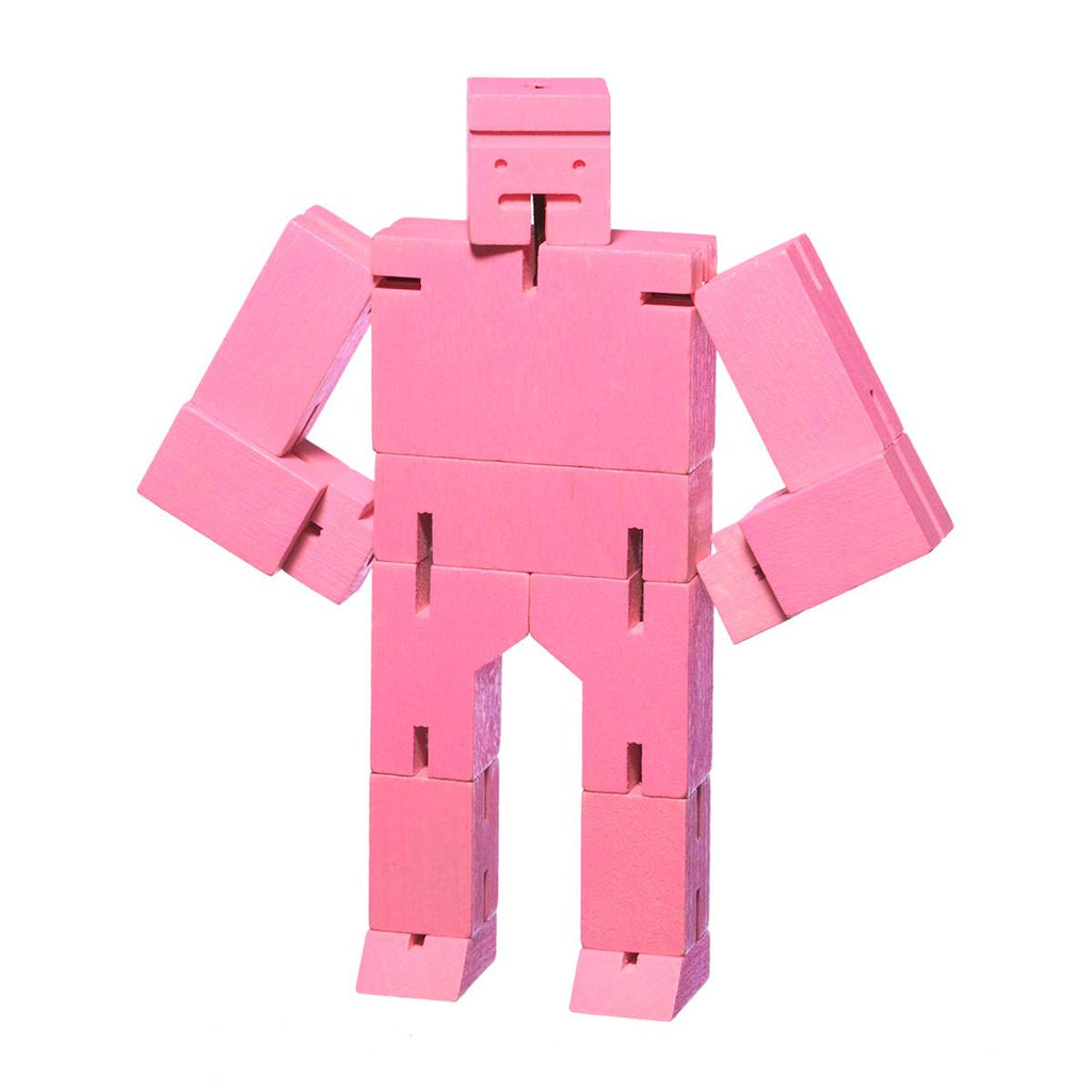 Robot Puzzle Toy | Cubebot Small Pink