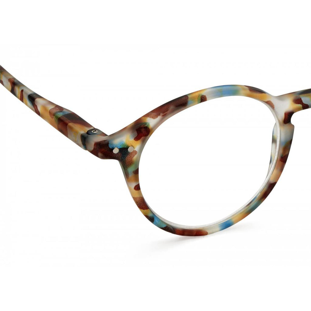 IZIPIZI Reading Glasses | Collection D | Blue Tortoise Shell