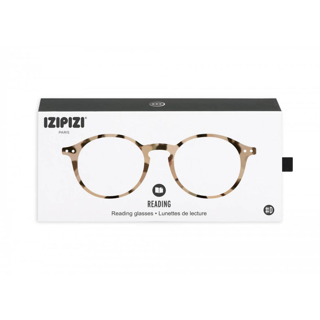 IZIPIZI Reading Glasses | Collection D | Light Tortoise Shell