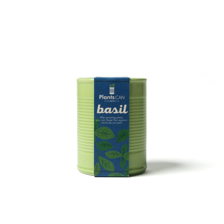 Plant in a Can - Green Basil
