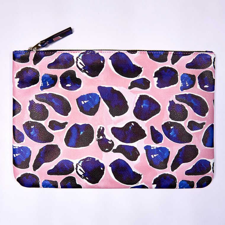 Carry All Clutch - Pink Mussel