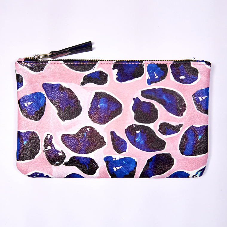 Clutch Purse - Pink Mussel