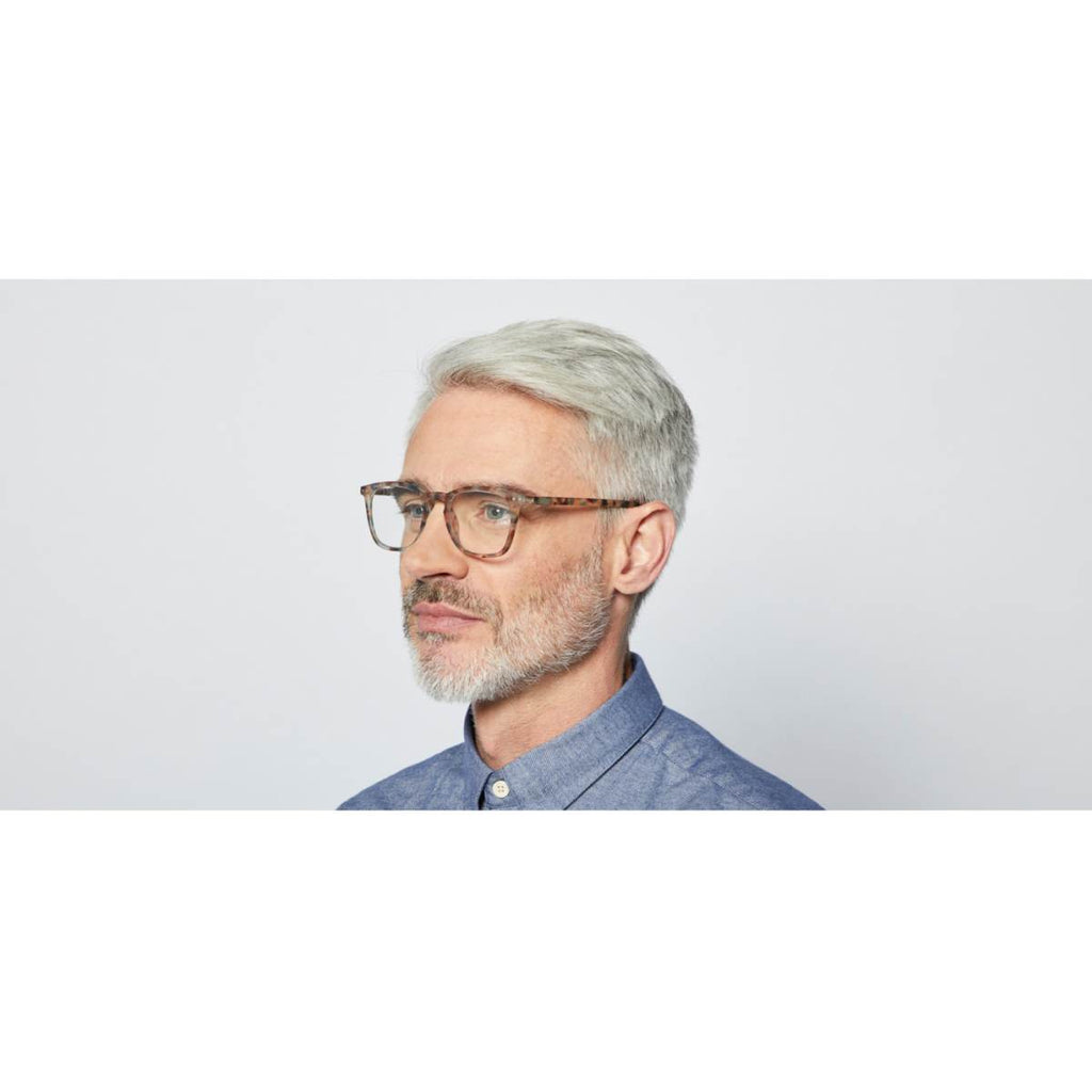 IZIPIZI Reading Glasses | Collection E | Blue Tortoise Shell