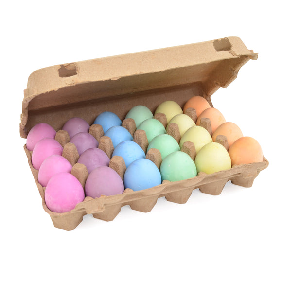 Egg Shaped Chalk | Pack of 24