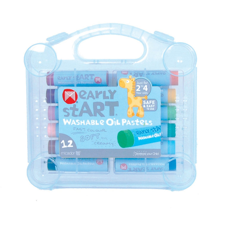 Washable Oil Pastels Case 12