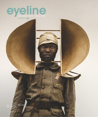 Magazine Cover featuring Issue 91 Eyeline Magazine
