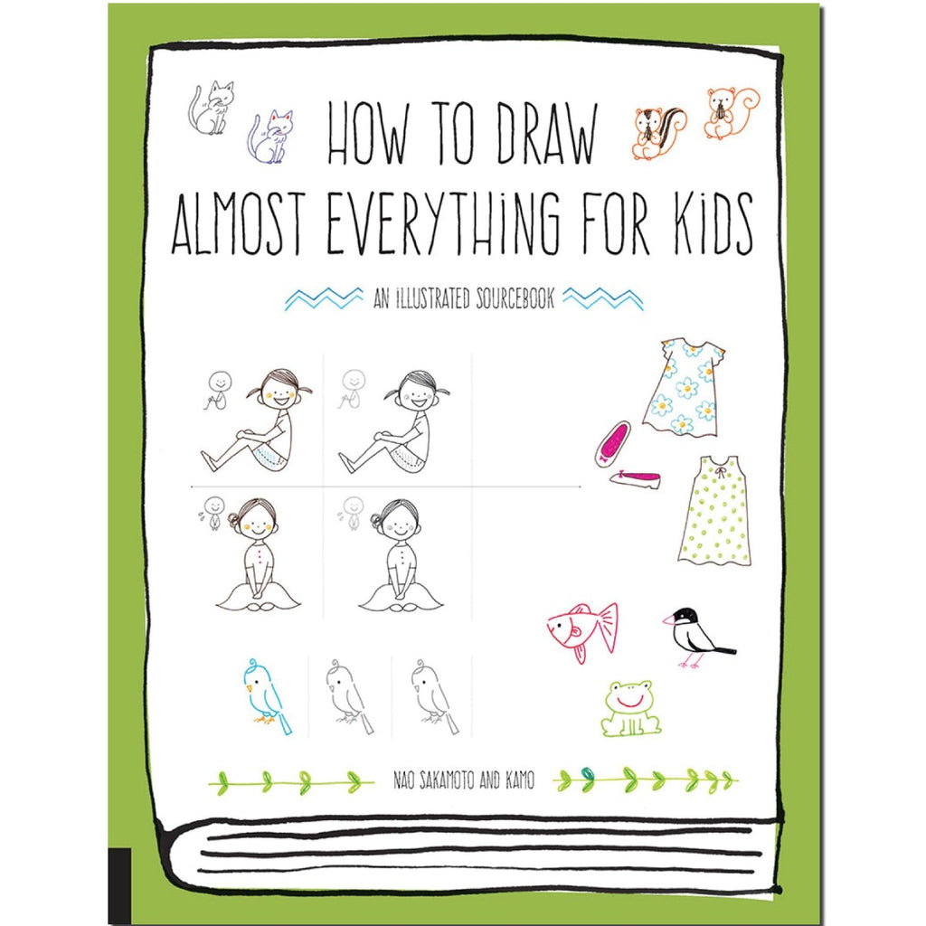 How to Draw Almost Everything for Kids | Author: Naoko Sakamoto