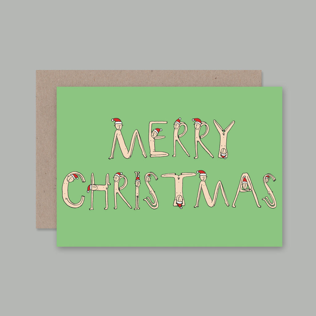 Card Merry Christmas Hilary Thackway