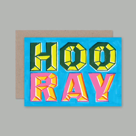 Greeting Card | Hooray | All Occasions