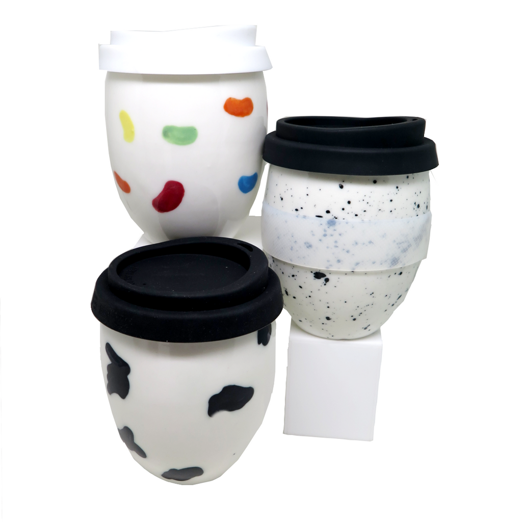 Reusable Cup / Mug | The Good Egg | Hayden Youlley | Assorted Colours