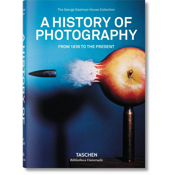 Book featuring cover art of A History of Photography