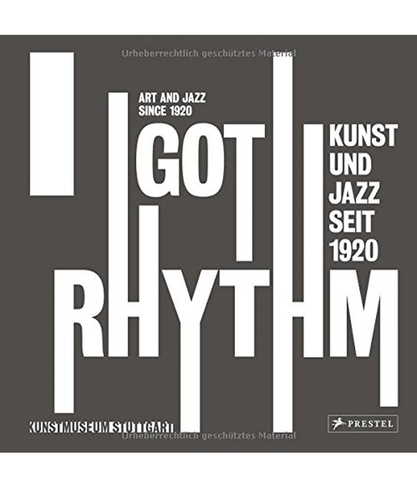 Book featuring cover art of I Got Rhythm: Art and Jazz 1920