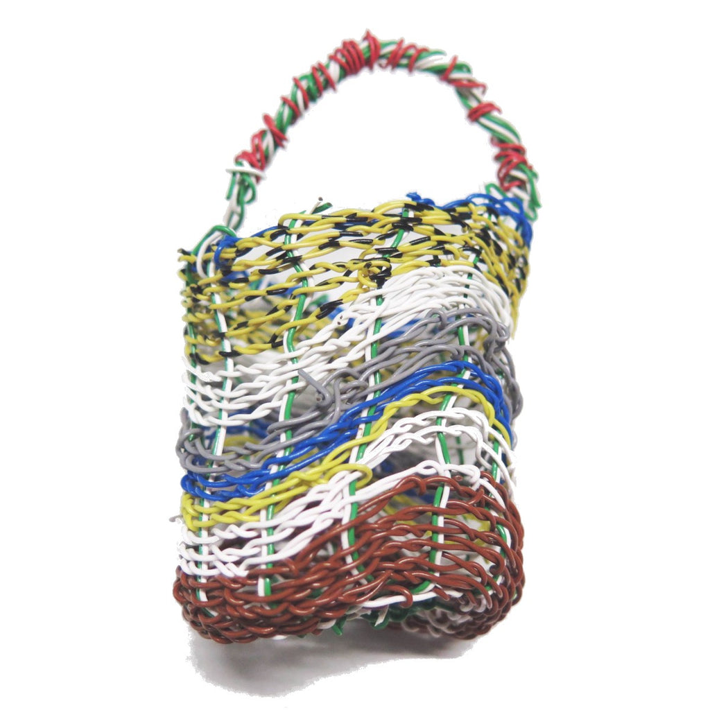 Woven Mindi Basket by Debra Murray | Girringun Aboriginal Art Centre