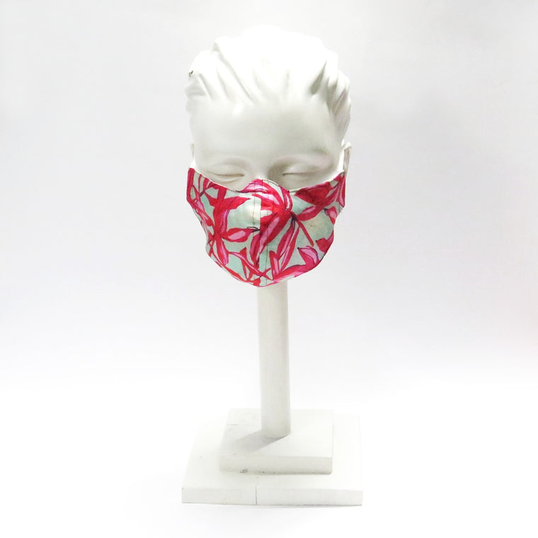Face Mask by Neil Grigg | Floral Print