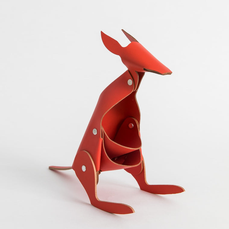 Kangaroo Desk Tidy - Red