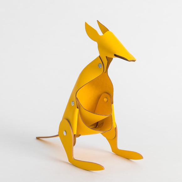 Kangaroo Desk Tidy - Yellow