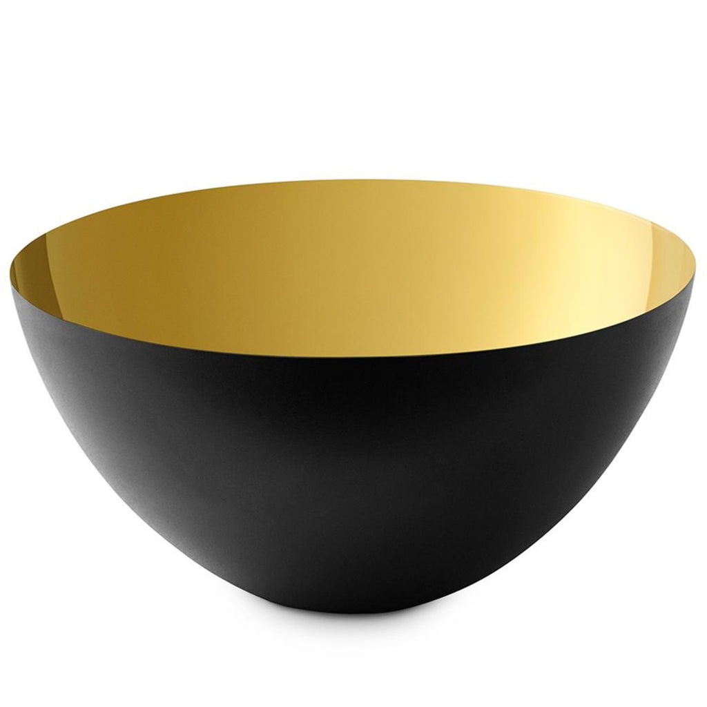 Bowl | Krenit Stainless Steel | Gold | 25cm