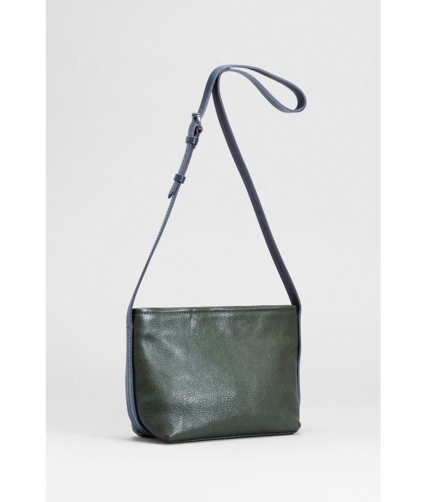 Bag | Canutte | SS20 | Green & Navy Blue