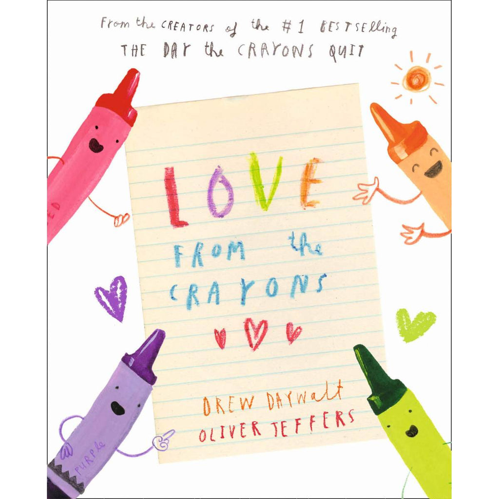 Love From the Crayons | Author: Drew Daywalt