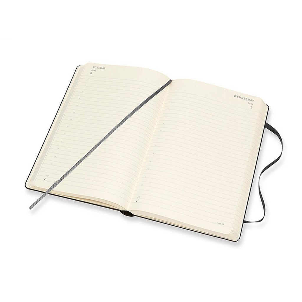 2021 Diary | Moleskine Hard Cover | Daily | Large | Black