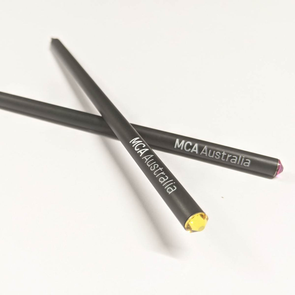 MCA Australia Pencil | Swarovski Crystal Topped | Assorted Colours