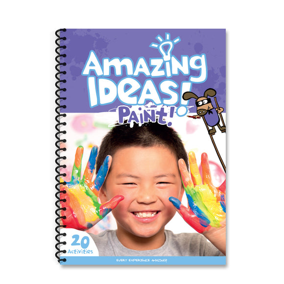 Amazing Ideas Activity Pack - Paint