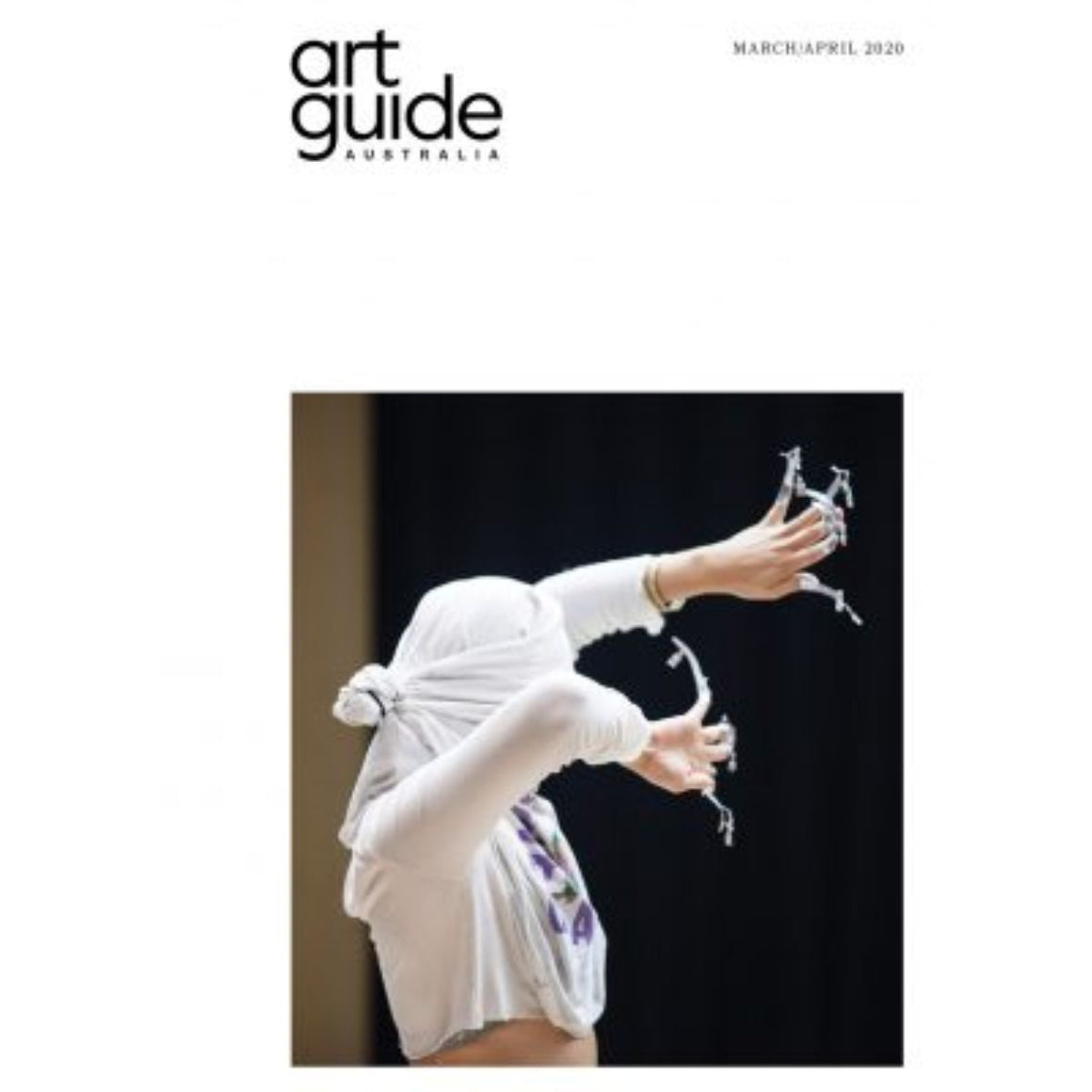 Magazine Cover featuring Issue March/April 2020 Art Guide