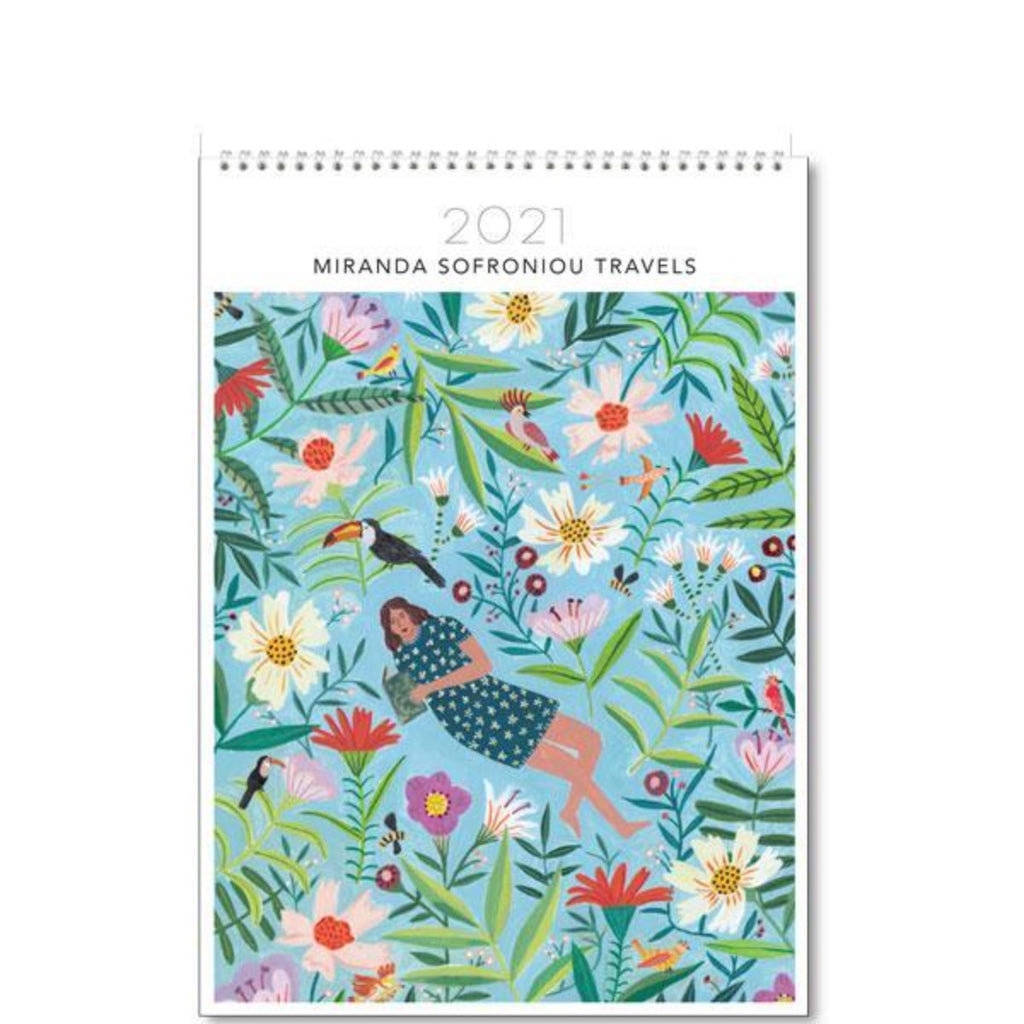 2021 Wall Calendar | Miranda Sofroniou Travels | Medium