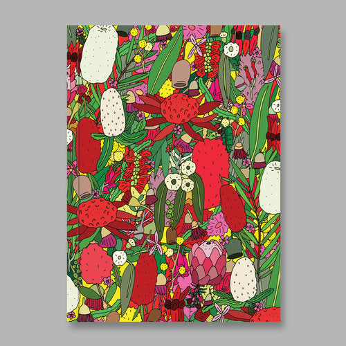 Notebook Aussie Flowers