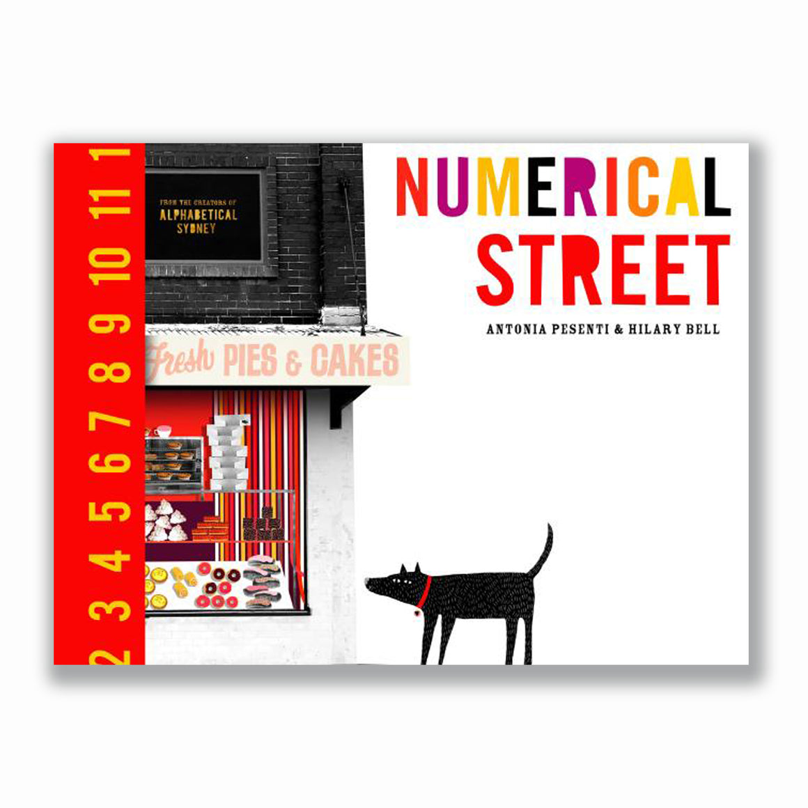 Numerical Street (HB) | Author: Antonia Pesenti