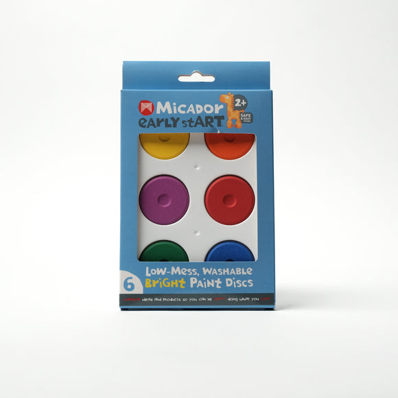 Paint Discs Washable - Bright