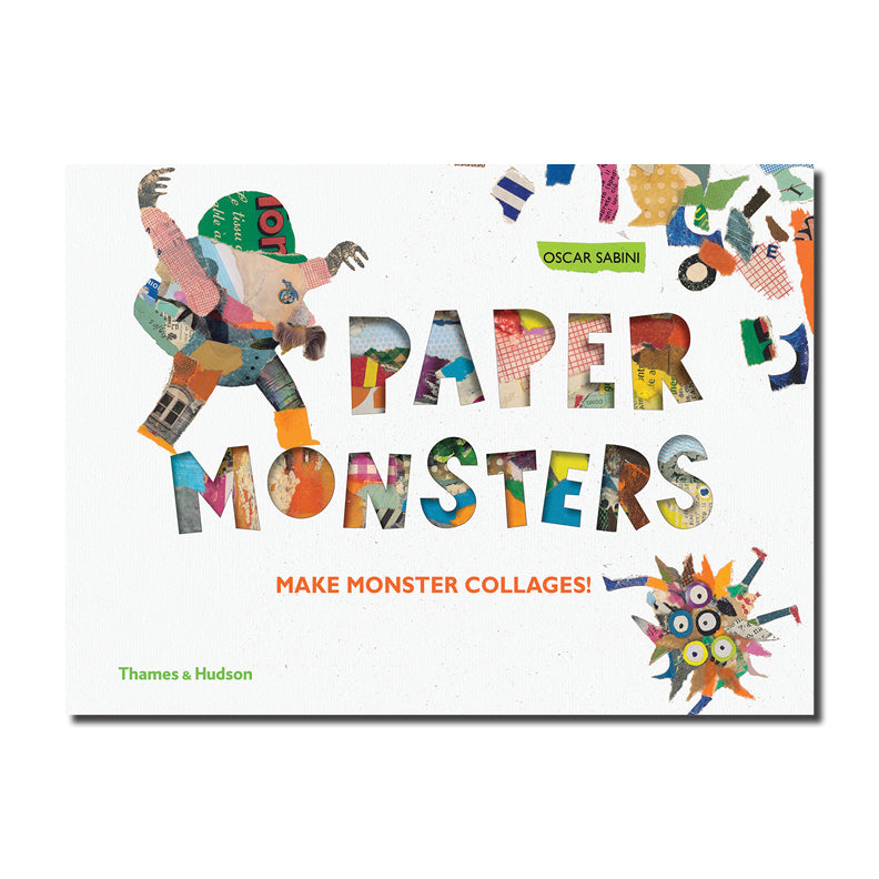 Paper Monsters : Create Collage Creatures