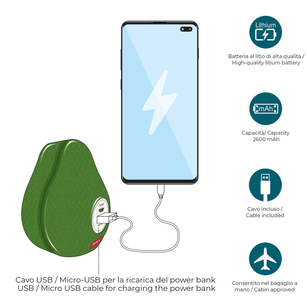 Power Bank | Avocado
