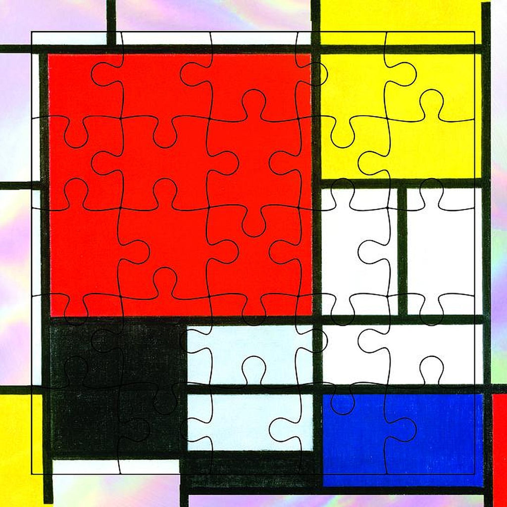 Greeting Card | Puzzle | Mondrian