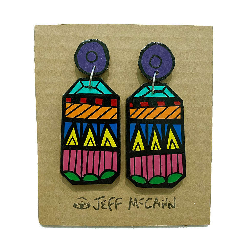 Earrings | Cact Eye Pad | Pattern | Jeff McCann