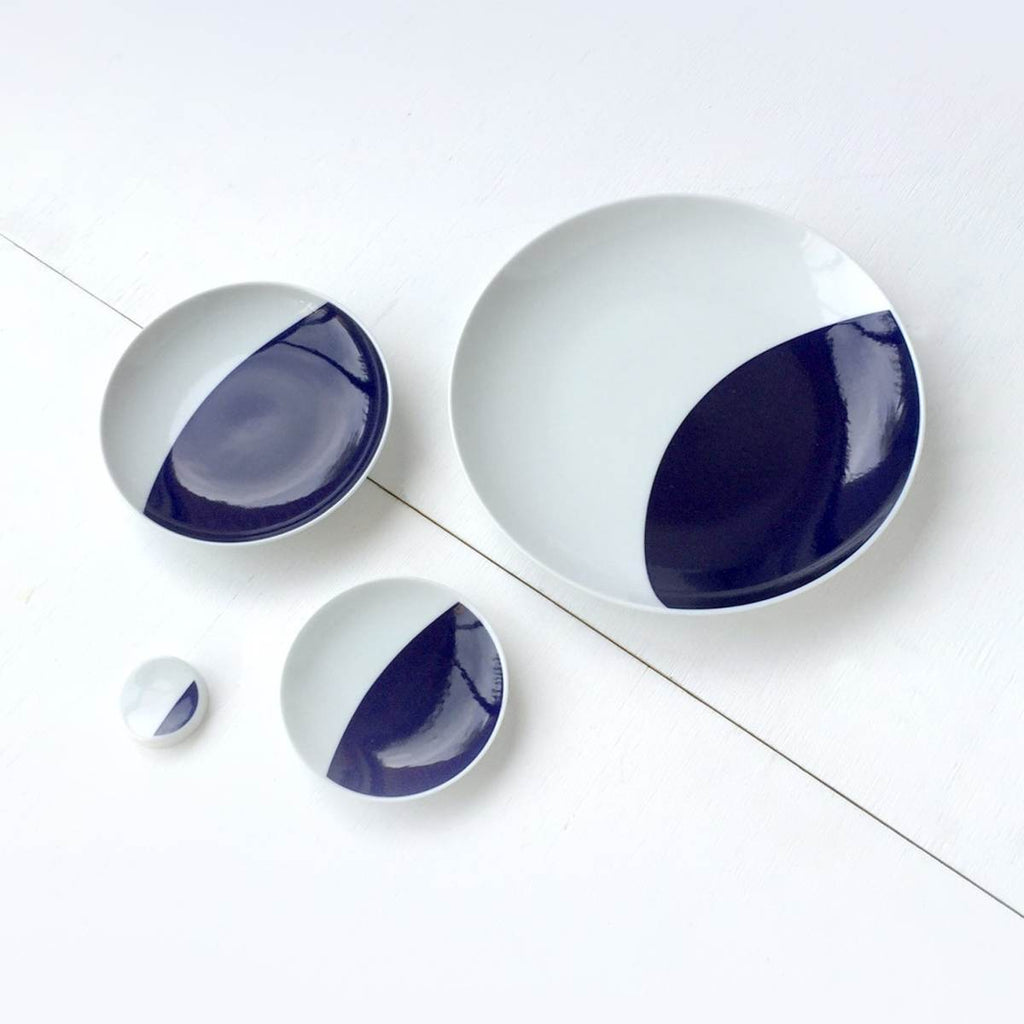 Porcelain Plate Set | Crescent Moon