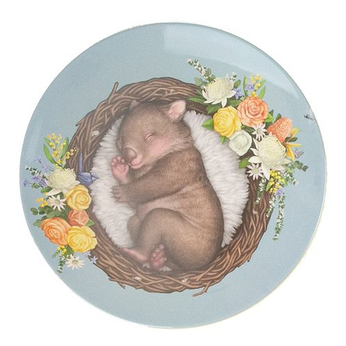 Plate | Nested Babies | Wombat