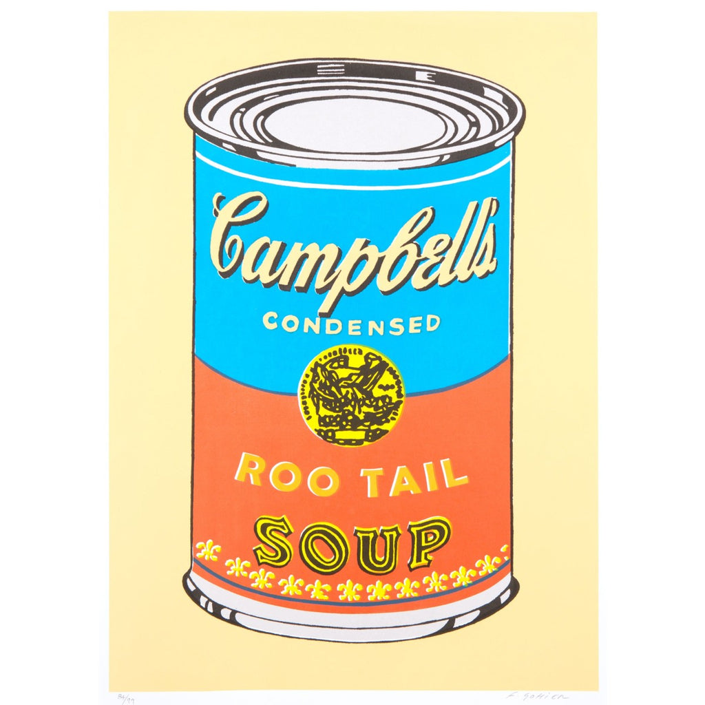 "A Pack of playing card featuring the artwork "" Roo Tail soup"" by Franck Gohier"
