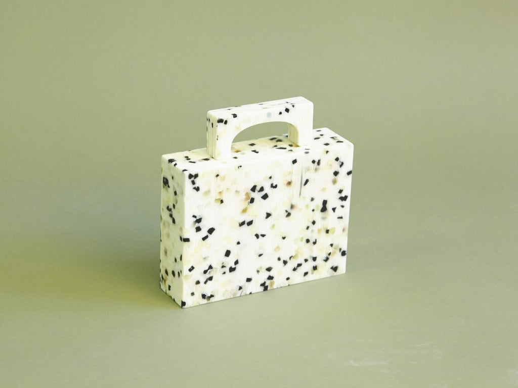 Bag Alexa White Dalmation Resin