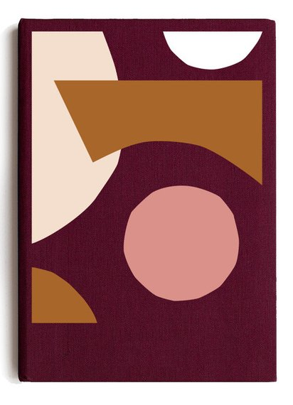 Notebook Spenceroni Soft Cover A5 Burgundy