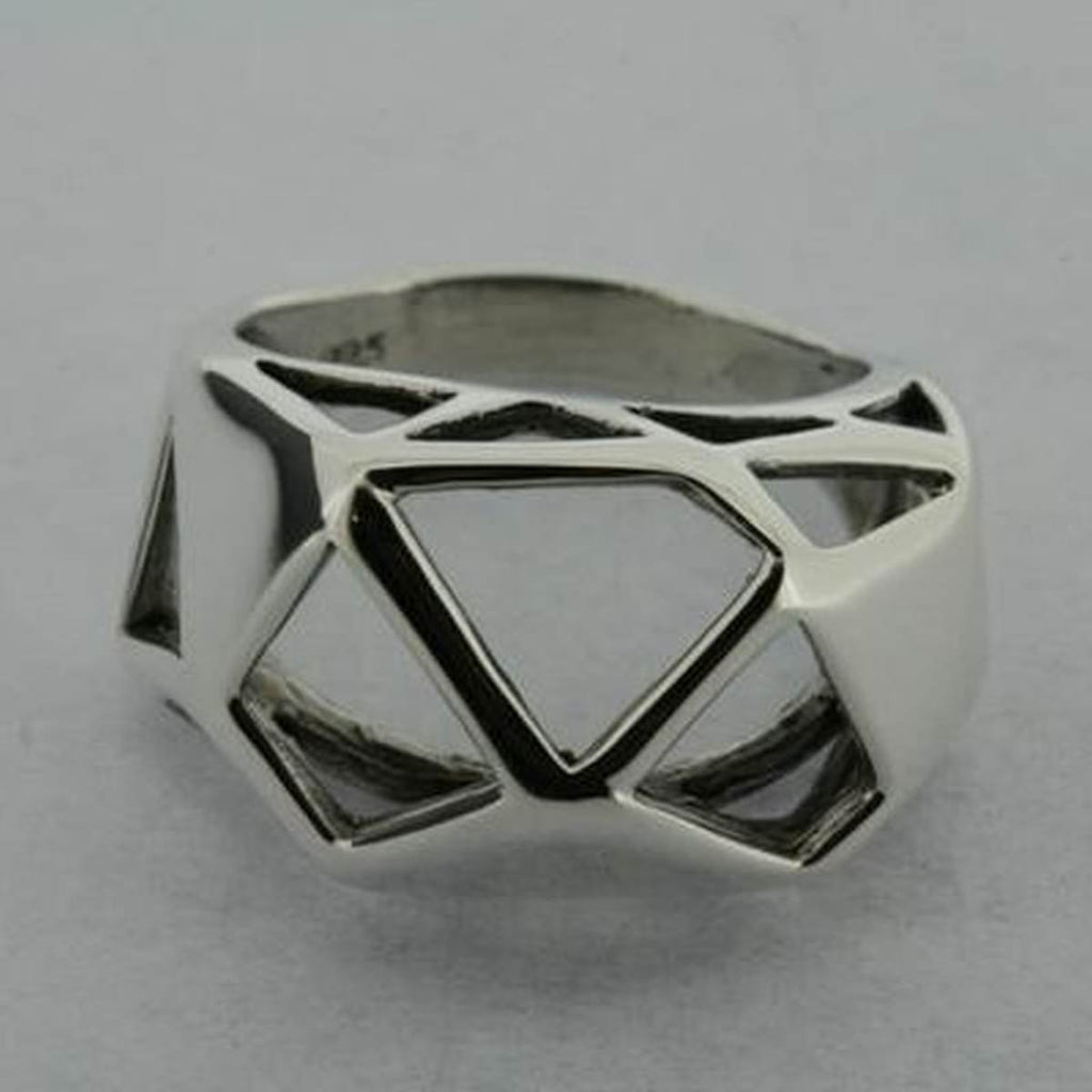 Silver Ring | Architect Triangles