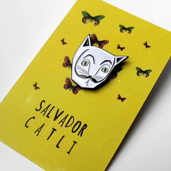Cat Pin Salvador Catli