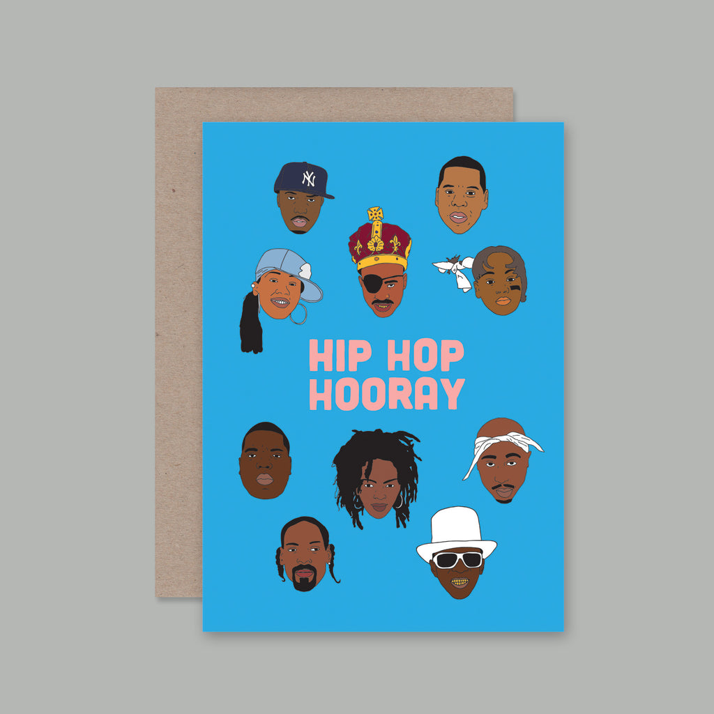 Card Hip Hop Hooray