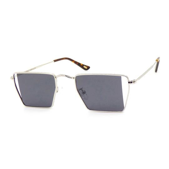 Sunglasses | Hexa Side Slice | Silver