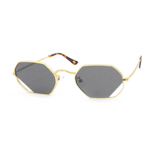 Sunglasses | Octa Oblique | Gold