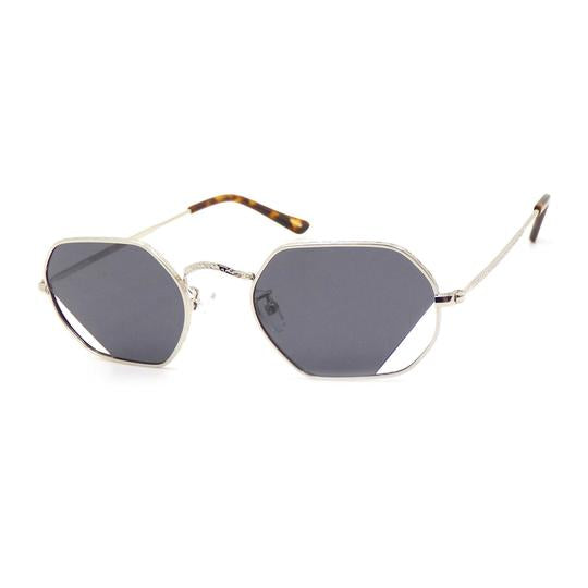 Sunglasses | Octa Oblique | Silver