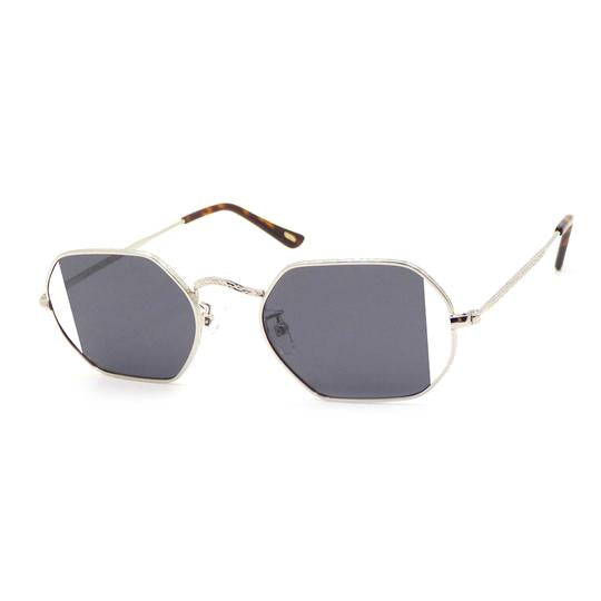 Sunglasses | Octa | Side Slice | Silver